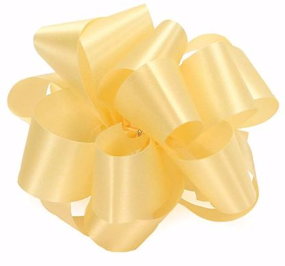 Picture of #9 Satin Ribbon - Maize