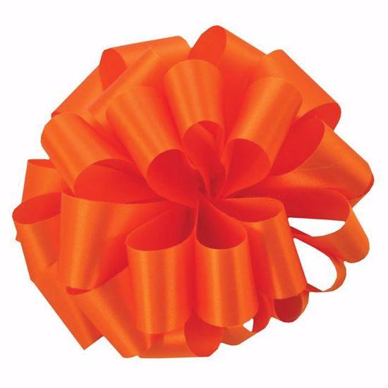 Picture of #9 Satin Ribbon - Tropical Orange (Orange)