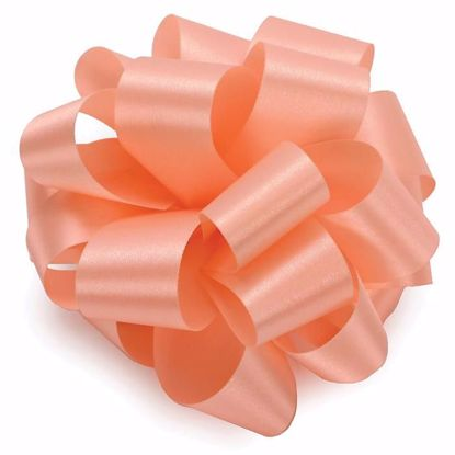 Picture of #9 Satin Ribbon - Peach
