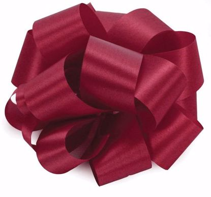 Picture of #3 Satin Ribbon - Burgundy