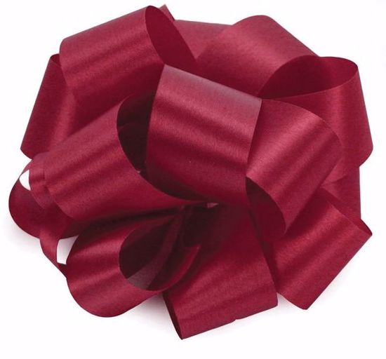 Picture of #9 Satin Ribbon - Burgundy