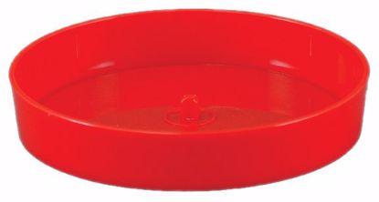 "Picture of Diamond Line 8"" Designer Dish - Red"