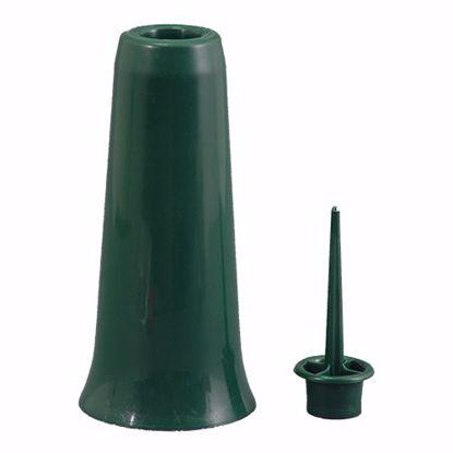 Picture of Diamond Line Memorial Vase - Green