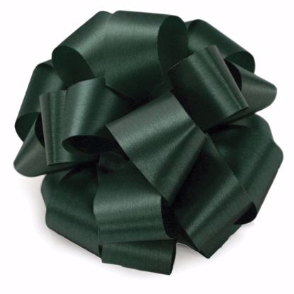 Picture of #9 Satin Ribbon - Hunter Green
