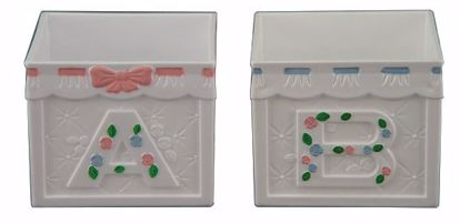 Picture of 2 Asst Plastic Baby Block