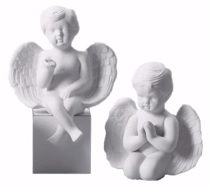 Picture of Porcelain Bisque Cherubs (2 Assorted Styles)