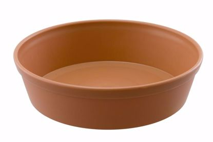 "Picture of Diamond Line 16"" Saucer - Clay"