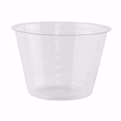 """Picture of 5"""" Round Hard Plastic Liner"""