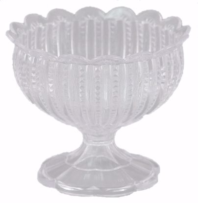 """Picture of Diamond Line 6"""" Chalice Vase - Crystal Clear"""