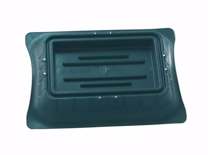 Picture of Diamond Line Full Block Casket Saddle - Green