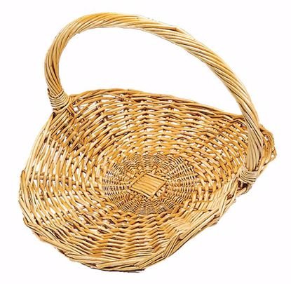 "Picture of 12"" Willow Fireside Basket"