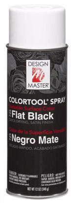 Picture of Design Master Colortool Spray/ Flat Black