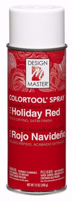 Picture of Design Master Colortool Spray/ Holiday Red