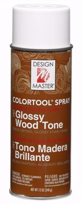 Picture of Design Master Colortool Spray/ Glossy Wood Tone