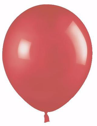 "Picture of 12"" Latex Balloons:  Red"