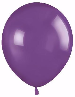 "Picture of 12"" Latex Balloons:  Purple"