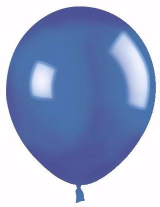 "Picture of 12"" Latex Balloons:  Medium Blue (Royal)"