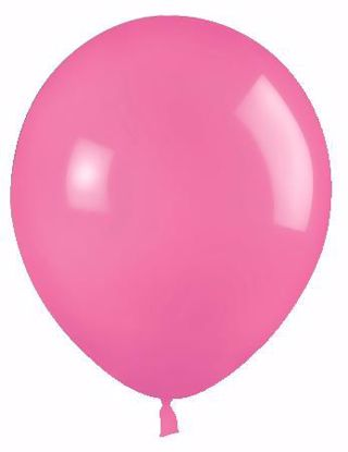 "Picture of 12"" Latex Balloons: Hot Pink"