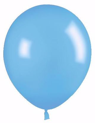 "Picture of 12"" Latex Balloons:  Sky Blue"