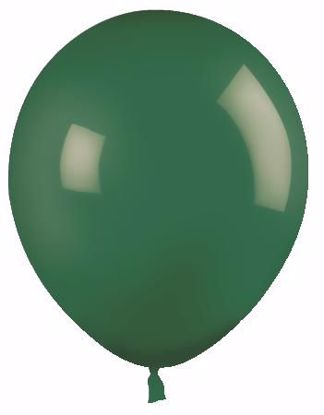 "Picture of 12"" Latex Balloons:  Forest Green"