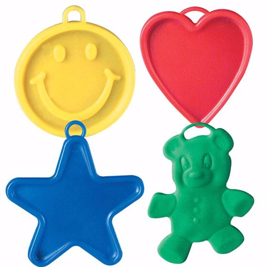 Picture of 8g Assorted Designer Balloon Weights