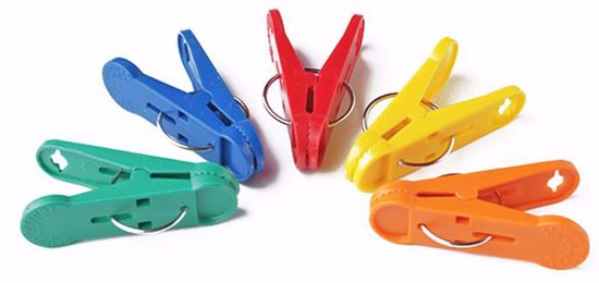 Picture of 8 Gram Asst Primary Color Clip-N-Weights