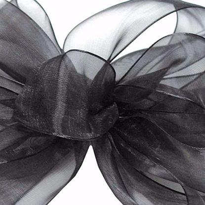 Picture of #3 Chiffon Ribbon - Black