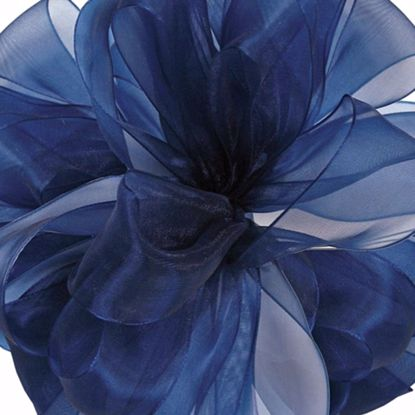 Picture of #3 Chiffon Ribbon - Navy