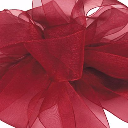 Picture of #3 Chiffon Ribbon - Burgundy