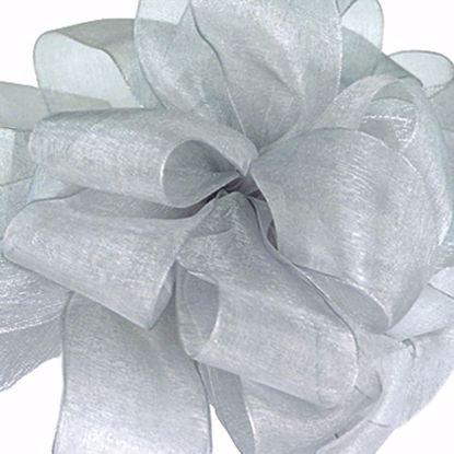 Picture of #3 Chiffon Ribbon - Silver