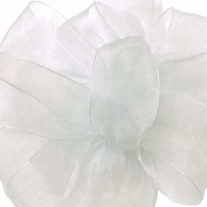 Picture of #3 Chiffon Ribbon - Antique White (Ivory)