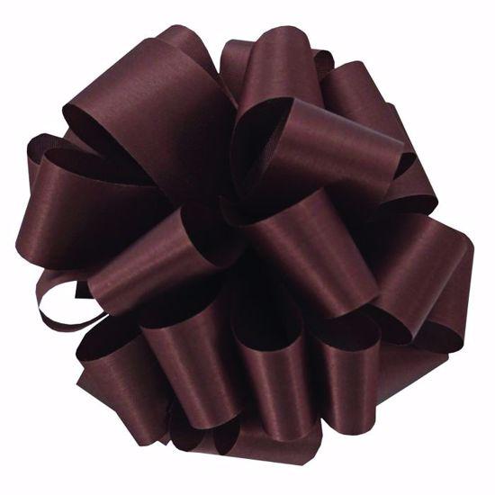 Picture of #9 Satin Ribbon - Milk Chocolate