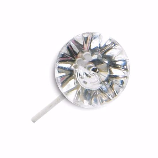 """Picture of 2"""" Diamante Pins - Clear"""