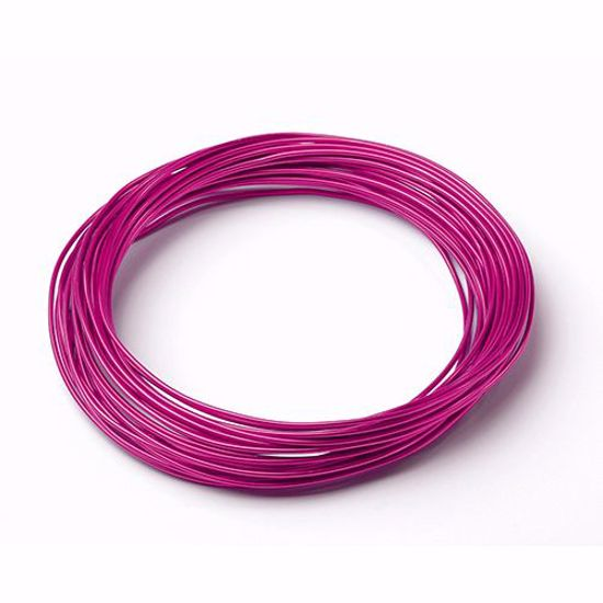 Picture of Oasis 12 Gauge Aluminum Wire-Strong Pink
