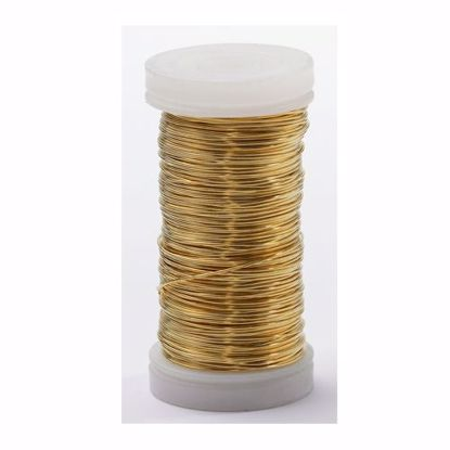 Picture of Oasis 24 Gauge Metallic Wire-Gold