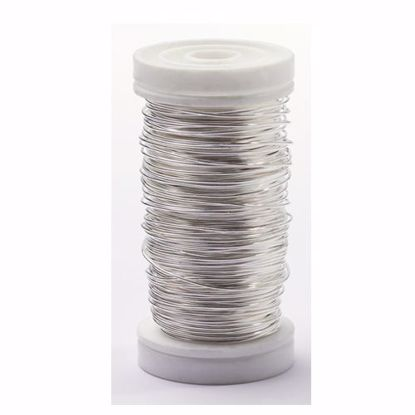 Picture of Oasis 24 Gauge Metallic Wire-Silver
