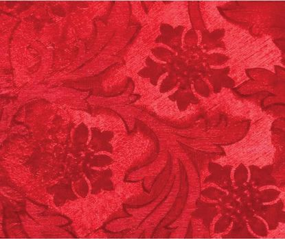Picture of Poly Embossed Foil Cardinal Red