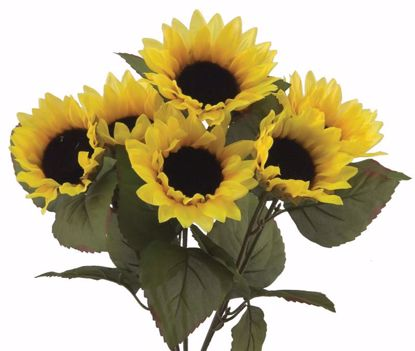 """Picture of 16"""" Yellow Sunflower"""