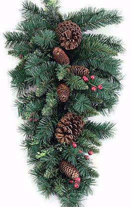 """Picture of 30"""" Pine-Cone-Berry-Cedar Teardrop"""