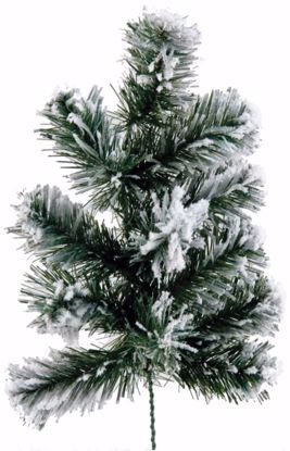 """Picture of Evergreen Spray-Flocked Pine (22"""")"""