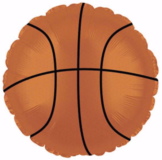 Picture of Shape Balloons: Basketball
