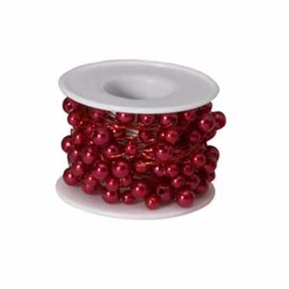 Picture of Oasis 26 Gauge Beaded Wire - Red