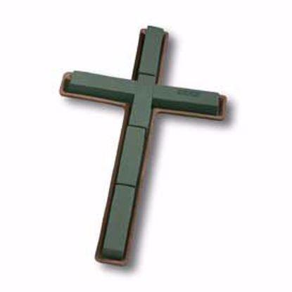 """Picture of 24"""" Mache Cross"""