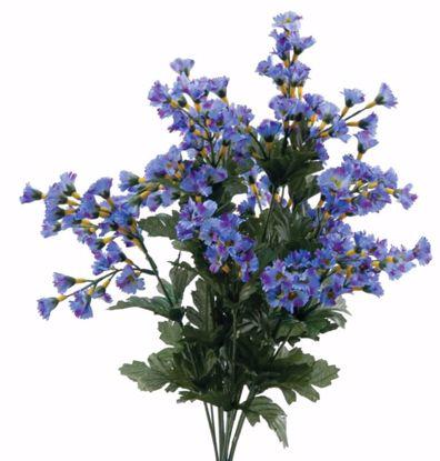 "Picture of 19"" Blue Gypsophila Spike Bush x 12"
