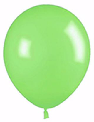 "Picture of 12"" Latex Balloons:  Lime"