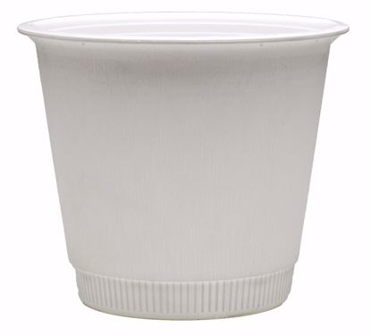 "Picture of Diamond Line 8"" Band-It Bucket - White"
