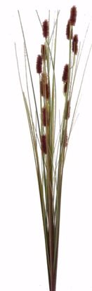 """Picture of Brown Mini Cattail Spray (31"""")"""