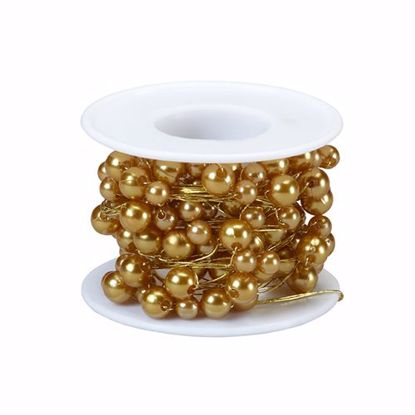Picture of Oasis 26 Gauge Beaded Wire - Gold