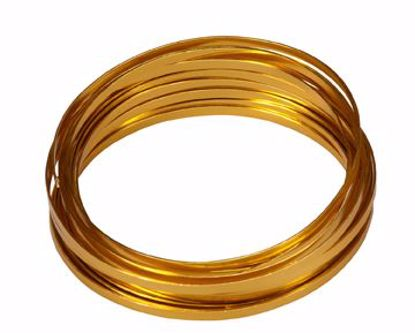 "Picture of Oasis 3/16"" Wide Flat Wire - Gold"