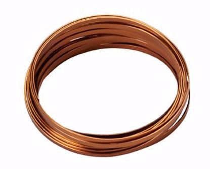 "Picture of Oasis 3/16"" Wide Flat Wire - Copper"